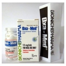 Oxa-Med Bioniche Pharmacy (Anavar, Oxandrolone) 120tabs (10mg/tab)